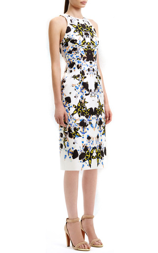 Clean Raglan Cut Away Dress by JOSH GOOT for Preorder on Moda Operandi