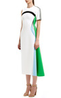 Contour Flare One Sleeve Dress by JOSH GOOT for Preorder on Moda Operandi
