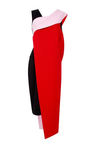 Medium josh goot pink cut and paste drape asymmetric dress