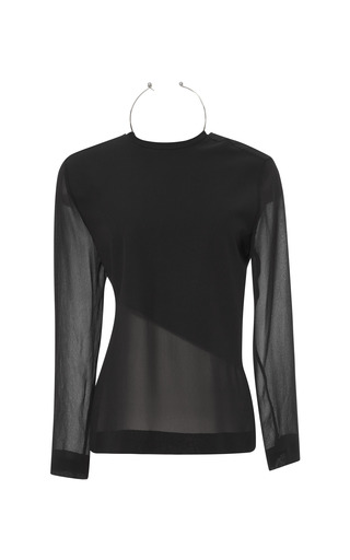 Neck Ring Long Sleeve by DION LEE for Preorder on Moda Operandi