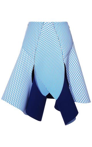 Medium dion lee blue cycle loop skirt 2