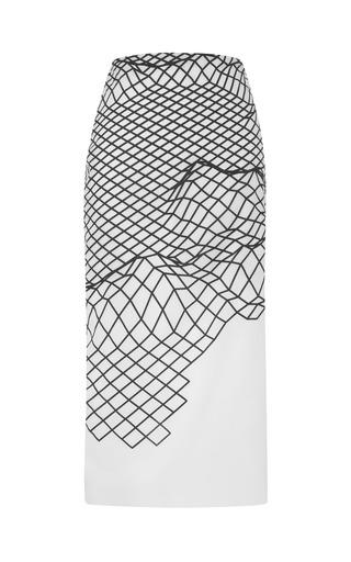 Medium dion lee black cycle organza skirt 2