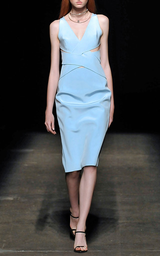 Interlock Silk Dress by DION LEE for Preorder on Moda Operandi