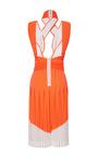 Neo Pleat Interlock Dress by DION LEE for Preorder on Moda Operandi