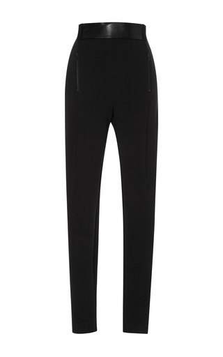 Medium dion lee black compact pant 2