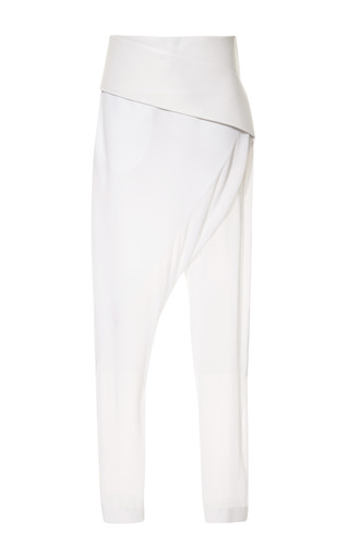 Orbit Belted Pant by DION LEE for Preorder on Moda Operandi
