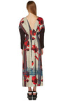 Double Brushed Flower Print Dress by MARNI for Preorder on Moda Operandi
