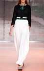 Onice Crepe Envers Satin Blouse by MARNI for Preorder on Moda Operandi