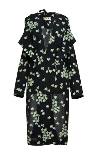 Medium marni print lemonade cloquet sakura jacket