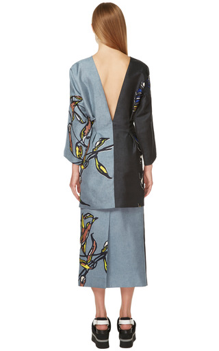Smoke Windrush Print Skirt by MARNI for Preorder on Moda Operandi