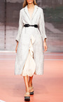 Alabaster Cotton Silk Gauze Skirt by MARNI for Preorder on Moda Operandi