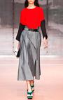 Indigo Twill Skirt by MARNI for Preorder on Moda Operandi