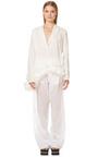 Diamante Cotton Voile Trousers by MARNI for Preorder on Moda Operandi