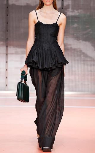Onice Cotton Silk Gauze Tank Top by MARNI for Preorder on Moda Operandi