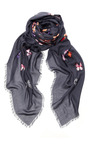 Butterfly Print Silk Scarf by LOEWE Now Available on Moda Operandi