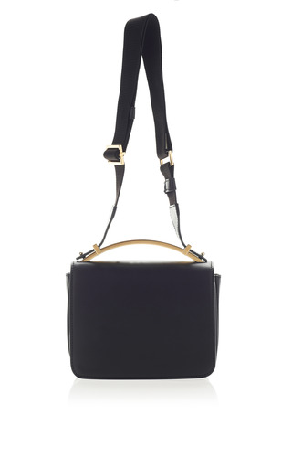 Medium marni black onice shoulder bag