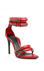 Red Runway Sandal by ANTHONY VACCARELLO for Preorder on Moda Operandi