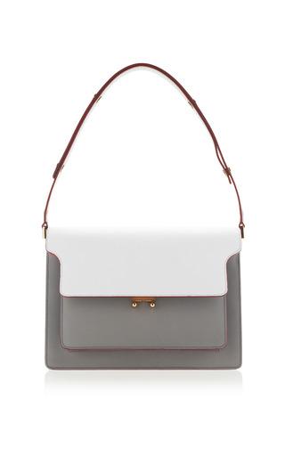 Medium marni white diamante grey handbag
