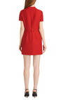 Wool And Silk Blend Mini Dress by VALENTINO Now Available on Moda Operandi