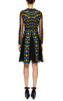 Embroidered Lace And Organza Dress by VALENTINO Now Available on Moda Operandi