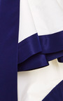 Silk Faille Ruffled Skirt by ROSIE ASSOULIN Now Available on Moda Operandi