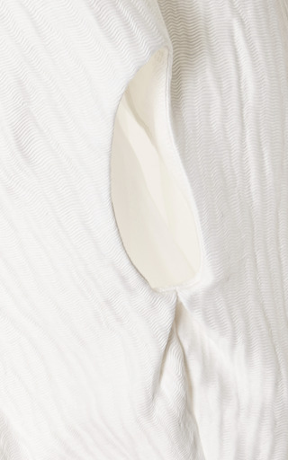 Textured Linen And Silk Top by ROSIE ASSOULIN Now Available on Moda Operandi