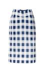Gingham Faille Pencil Skirt by DEREK LAM Now Available on Moda Operandi