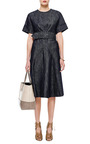 Belted Denim Dress by DEREK LAM Now Available on Moda Operandi