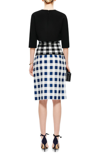 Bonded Crepe Cropped Top by DEREK LAM Now Available on Moda Operandi