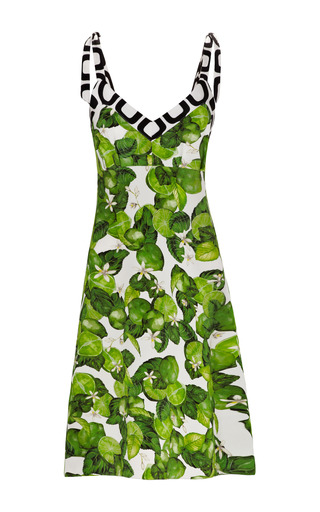 Medium isolda lime green lime bow dress