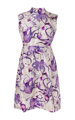 Medium isolda print octopus demure dress
