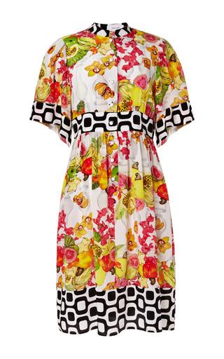 Medium isolda print sacada viviana dress