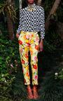 Tutifrutti Tailored Trousers by ISOLDA for Preorder on Moda Operandi