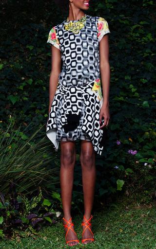 Ipanema 3 D Dress by ISOLDA for Preorder on Moda Operandi
