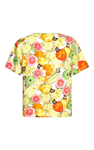 Tutifrutti T Shirt by ISOLDA for Preorder on Moda Operandi