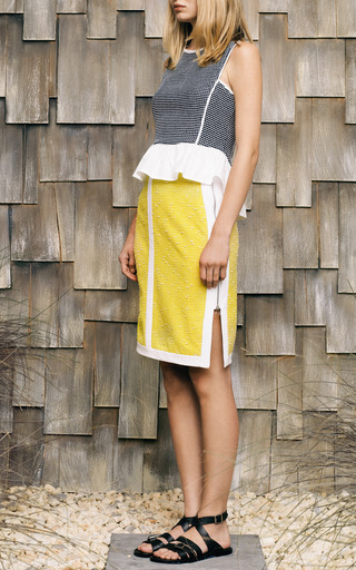 Pontetorto Dot Jersey Cotton Combo Tank by SEA for Preorder on Moda Operandi