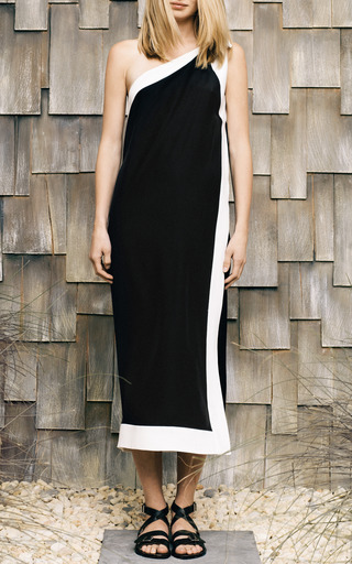 Asymmetrical Silk Dress by SEA for Preorder on Moda Operandi