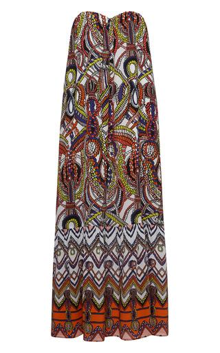 Medium msgm multi corded crepe de chine maxi dress