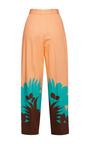 Tropical Ferns Poplin Trousers by MSGM for Preorder on Moda Operandi