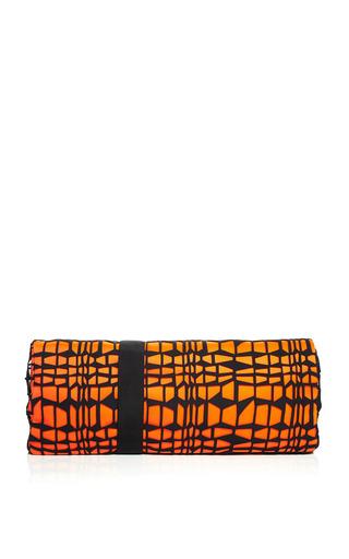 Shattered Neoprene Lace Oversize Clutch by ROKSANDA for Preorder on Moda Operandi