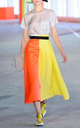 Jersey Backed Rubber Oversize Clutch by ROKSANDA for Preorder on Moda Operandi