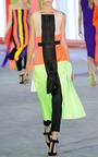 Acid Green Heydon Dress With Black Belt by ROKSANDA for Preorder on Moda Operandi