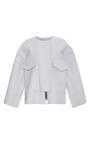Grey Ashby Jacket by ROKSANDA for Preorder on Moda Operandi