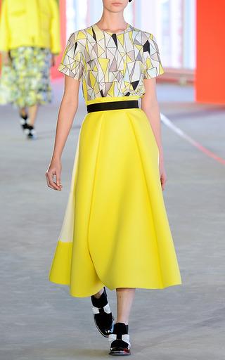 Ivory Whiston Skirt by ROKSANDA for Preorder on Moda Operandi
