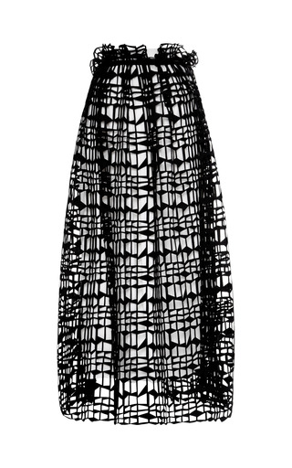 Medium roksanda ilincic black apsley skirt