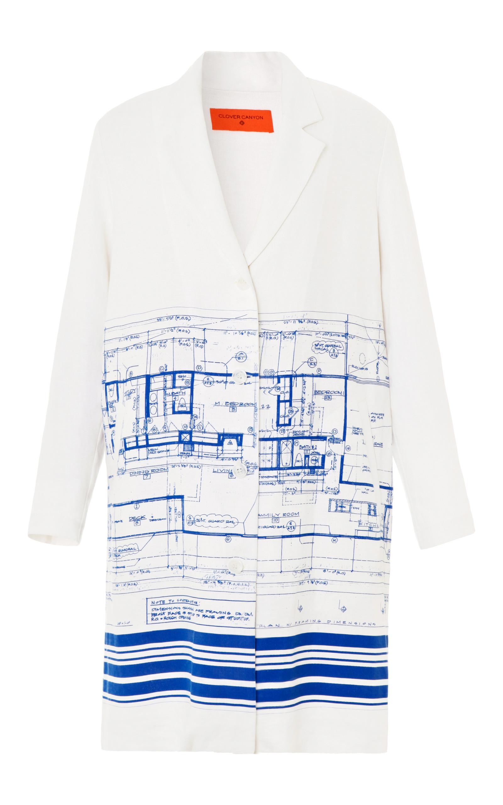Blueprint jacket by clover canyon moda operandi loading malvernweather Images