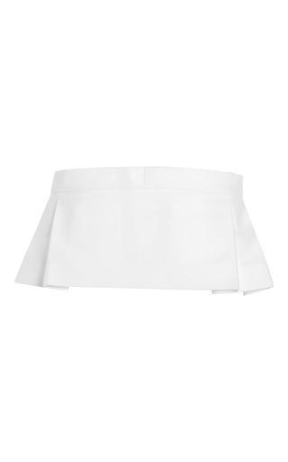 White Bashina Belt by NO. 21 for Preorder on Moda Operandi