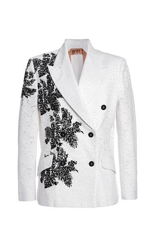 Medium no 21 white white giacinta jacket