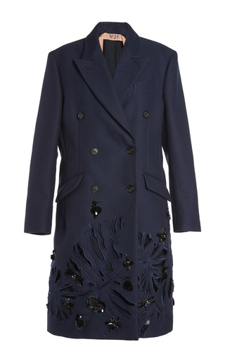 Medium no 21 navy clio coat