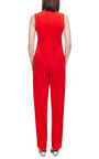 Celia Crepe Cross Front Jumpsuit by OPENING CEREMONY Now Available on Moda Operandi